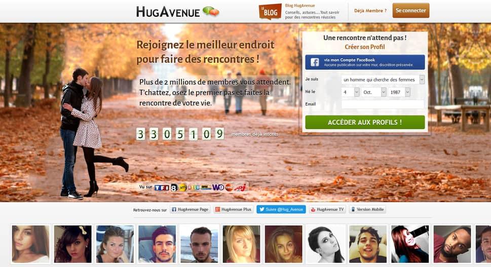 Site de rencontres hugavenue